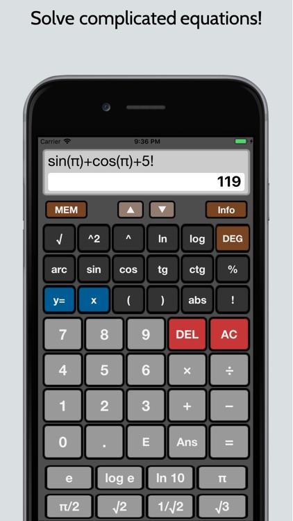 Scientific Calculator Premium