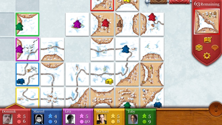 Carcassonne screenshot-2