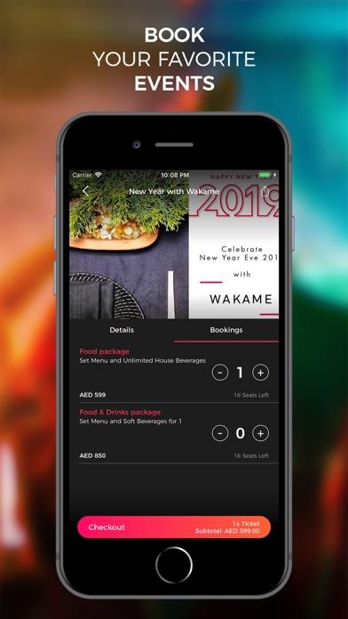Screenshot for Moonshine App: Nightlife Guide in United Arab Emirates App Store
