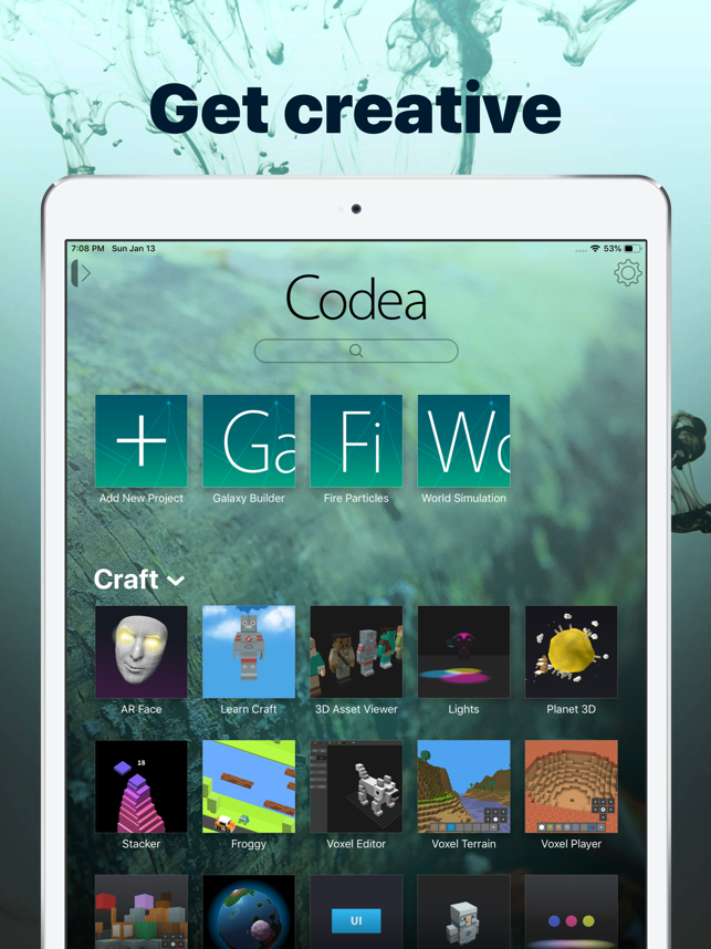 Codea Screenshot