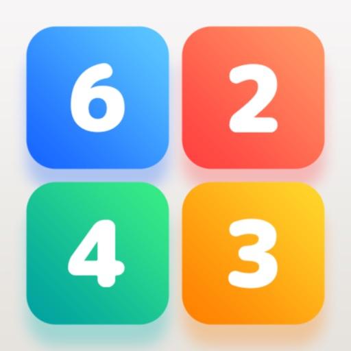 脳トレができる数字パズルゲーム タシテケス