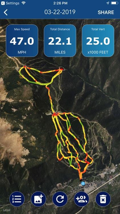 Ski Tracker & Snow Forecast screenshot-3