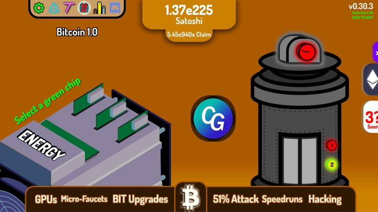 CryptoClickers: Idle Game screenshot-4