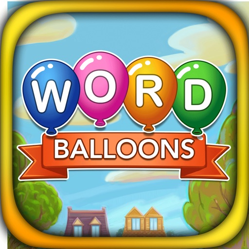 Word Balloons Word Search Game
