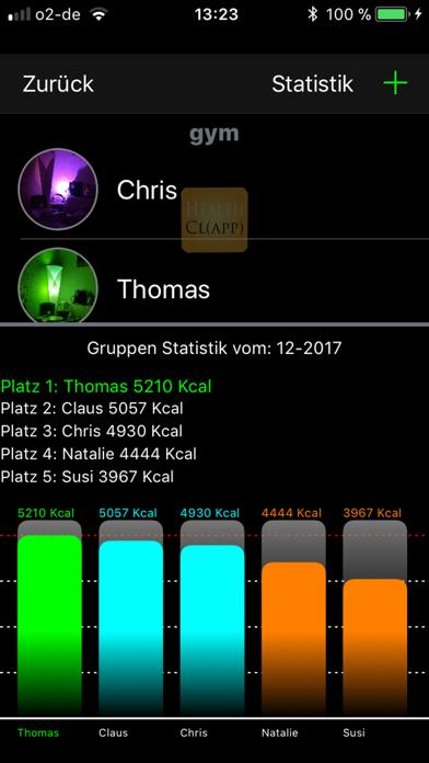 HealthclappScreenshot von 3