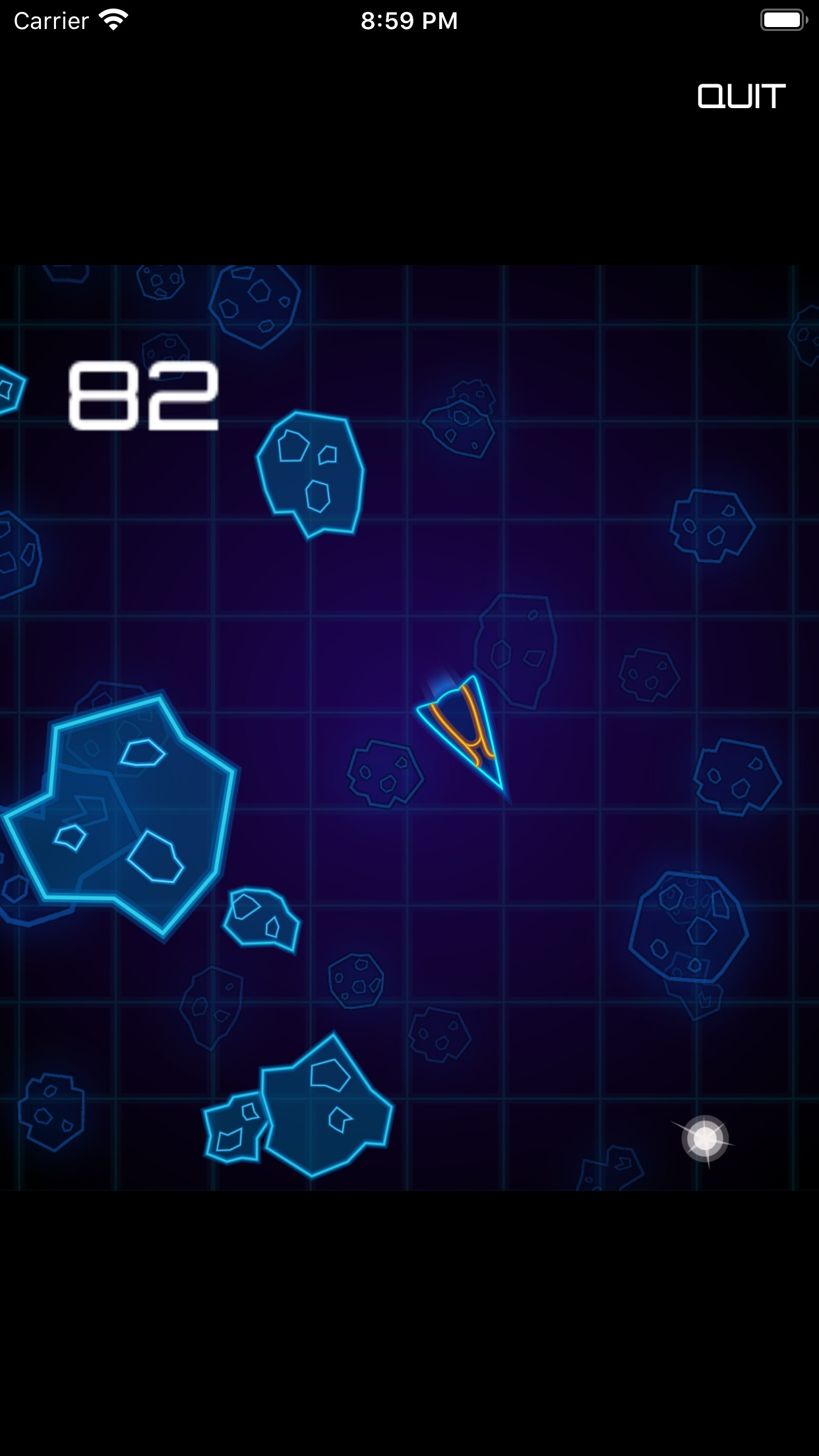 Screenshot do app Vesta Attack
