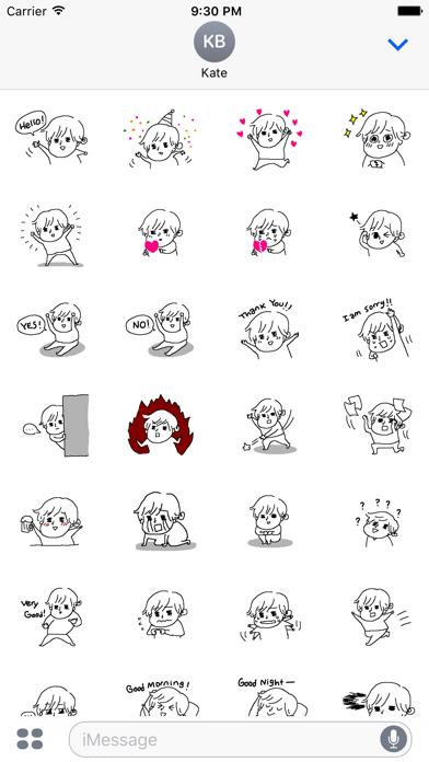 Dundin's Stickerのスクリーンショット2