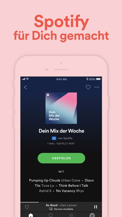 Screenshot for Spotify – Musik und Podcasts in Austria App Store