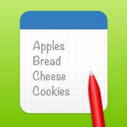 Ícone do app ShoppingList