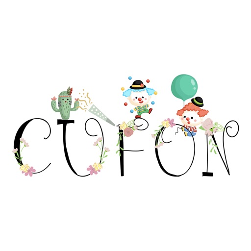CUFON - Custom Flower Font icon