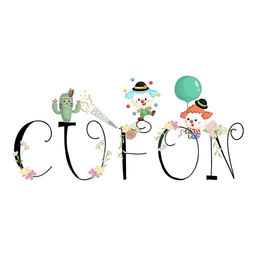 CUFON - Custom Flower Font