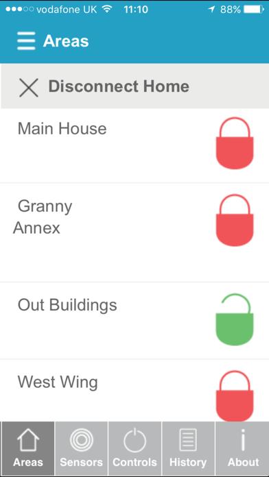 HomeControl+ screenshot one