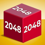 Chain Cube: 2048 3D merge game Hack Online Generator  img