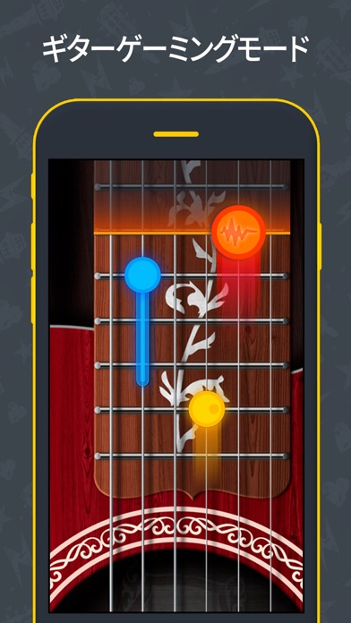 ギター チューナー - ウクレレやギターの チューニングのおすすめ画像3