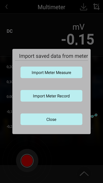 Screen Shot PeakTech Meter 2