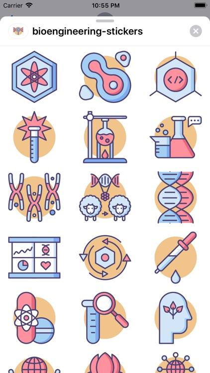 tBioengineering Stickers screenshot-4