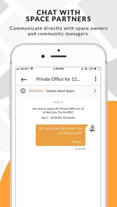 Screenshot for FlySpaces Inc. in Hong Kong App Store