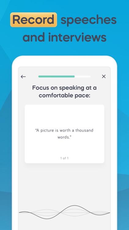 Speeko - Public Speaking Coach screenshot-5