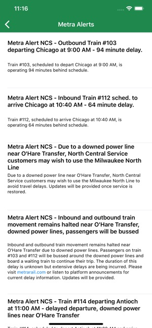 Is Metra Late on the App Store