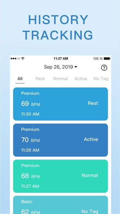 心拍数 & 脈拍測定 -  健康脈拍計測器のおすすめ画像10