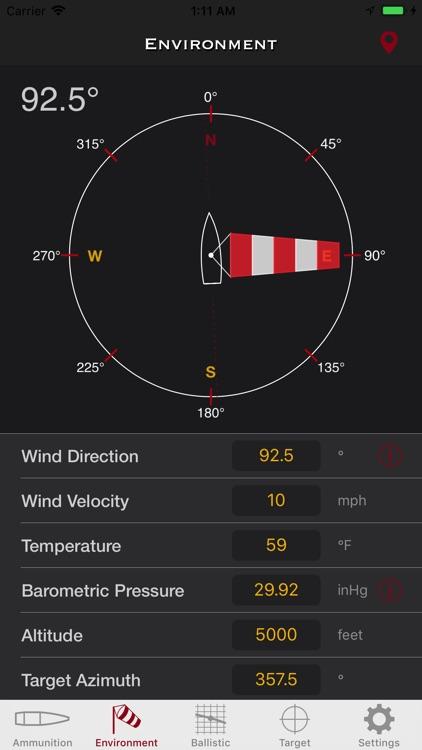 SBC - Ballistic Calculator app screenshot-3