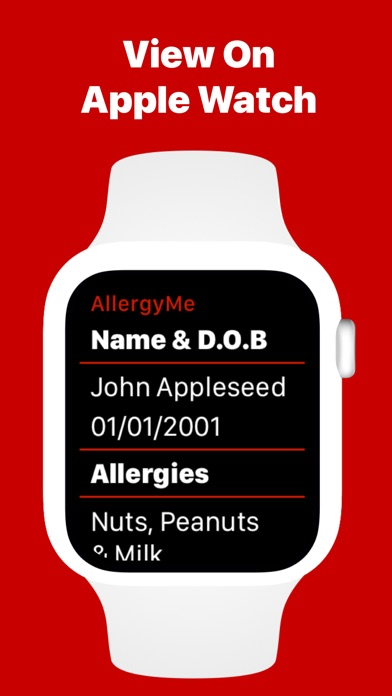 AllergyMe - Allergy Medical ID Screenshots