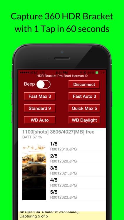 HDR 360 Bracket Ricoh Theta screenshot-4