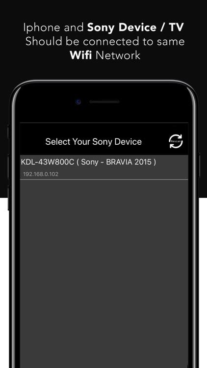Remote For Sony TV - Bravia