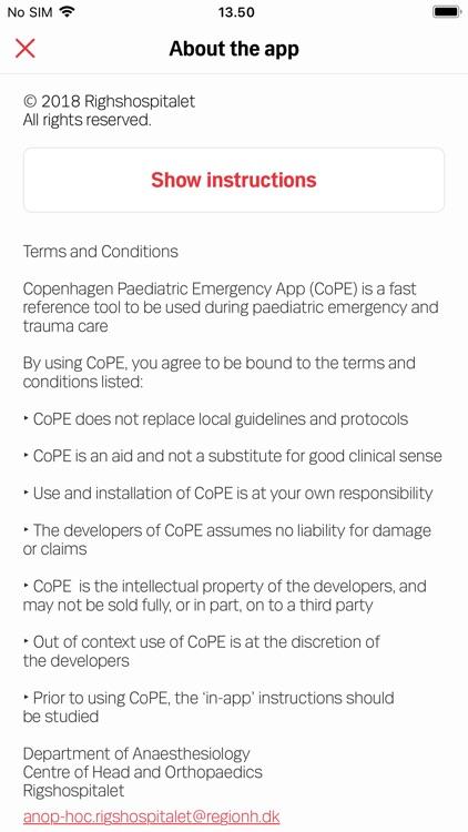 CoPE Paediatric Emergency screenshot-3