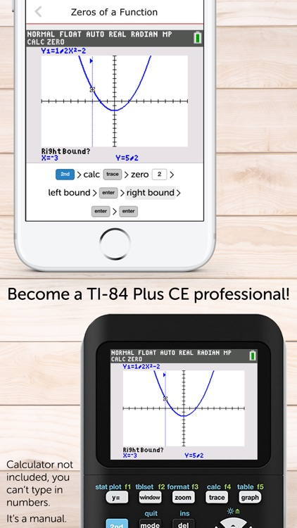 TI-84 CE Calculator Manual by Graphing Calculator Apps UG  (haftungsbeschrankt)