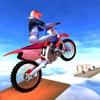 Galaxy Bike Ramp Stunts