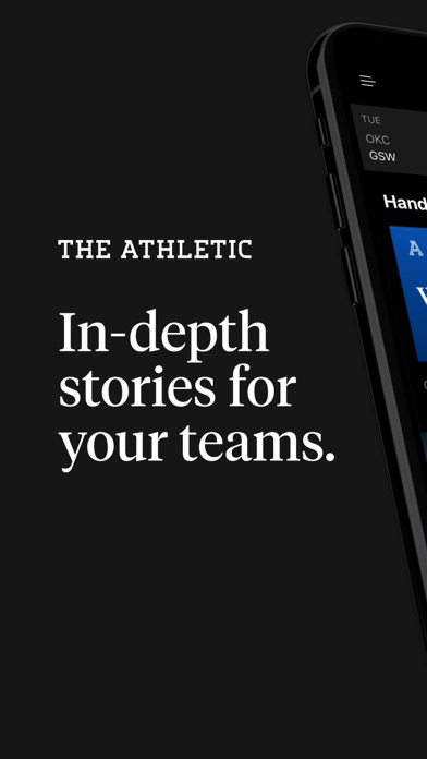 The Athletic: In-Depth Stories