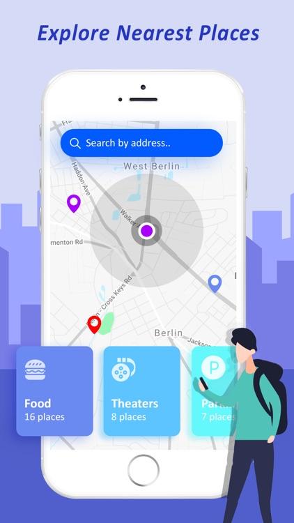 GPS Navigation & Live Traffic screenshot-3