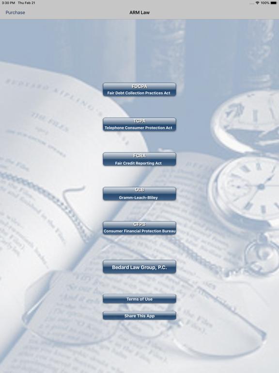 ARM Law screenshot