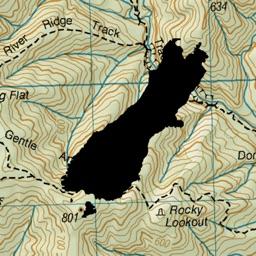 NZ Topo50 South Island