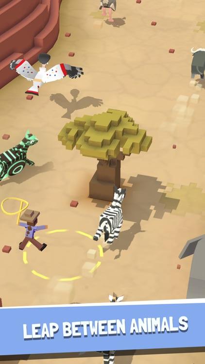 Rodeo Stampede: Sky Zoo Safari screenshot-0