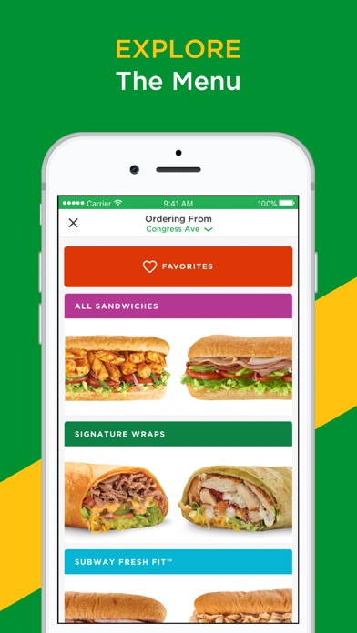 download SUBWAY® apps 2