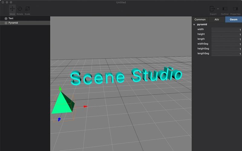 SceneStudio скриншот программы 1