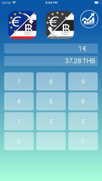 Euro to Baht Premium app image