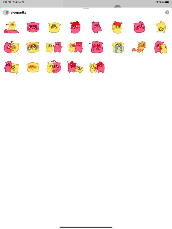 Pillow stickers for iMessage screenshot 3