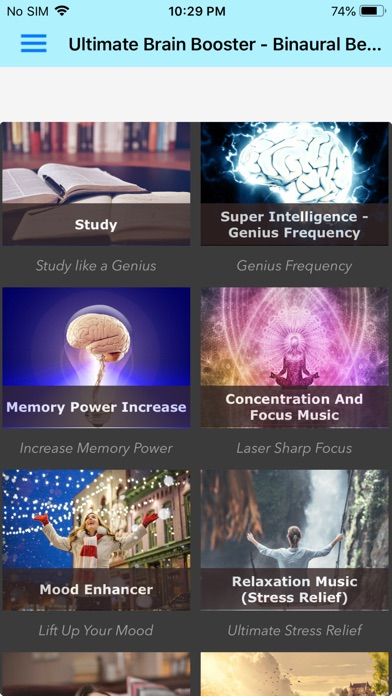 Screenshot for Ultimate Brain Booster in Denmark App Store
