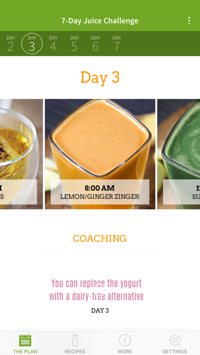 Screenshot for Jason's 7-Day Juice Challenge in Japan App Store