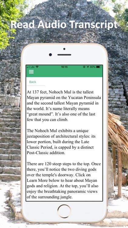 Coba Ruins Cancun Mexico Tour screenshot-4