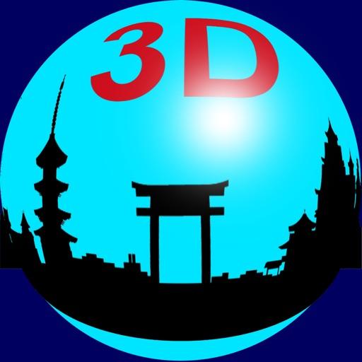 3D Fisheye Camera icon