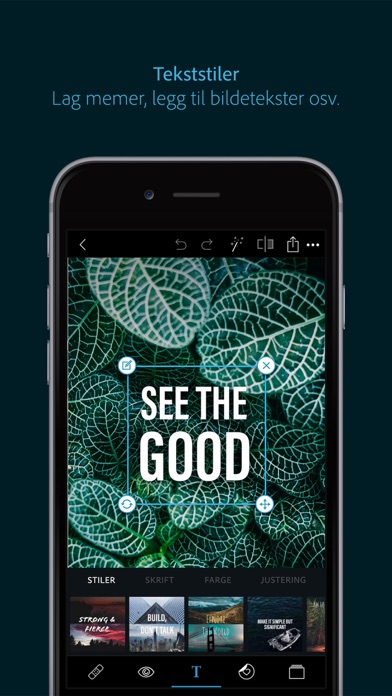 Screenshot for Photoshop Express-Bildered in Norway App Store
