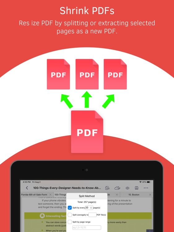 PDF Reader – Expert PDF Editor screenshot-9