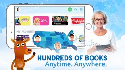 Screenshot for Caribu Kids Books & Coloring in United States App Store