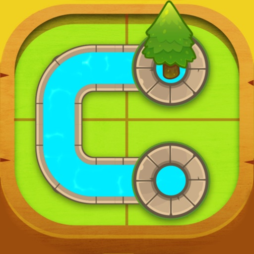 Water Connect - Trees Puzzle