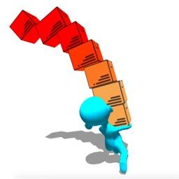 Human Run Stack: Blocks Tower
