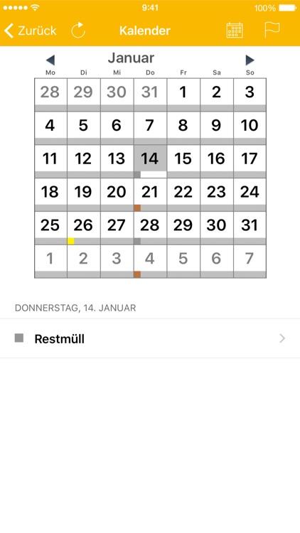 AbfallApp Landkreis Augsburg screenshot-3